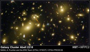 Lente gravitacional 2 cluster